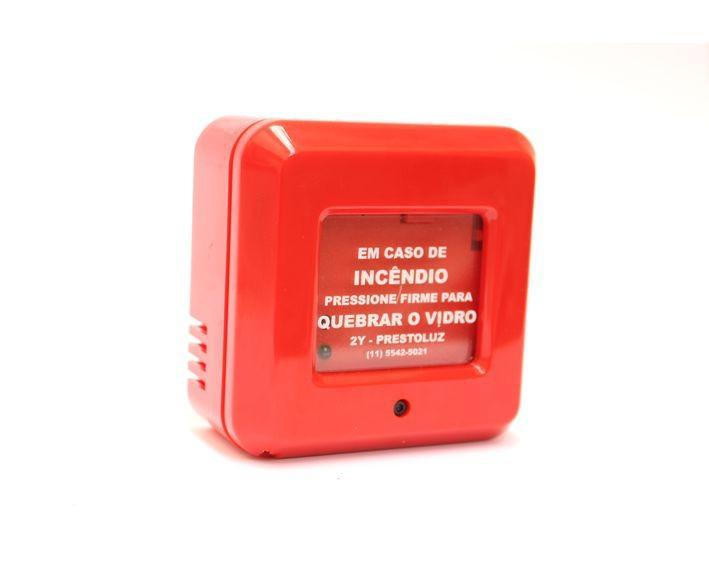 Acionador manual de alarme