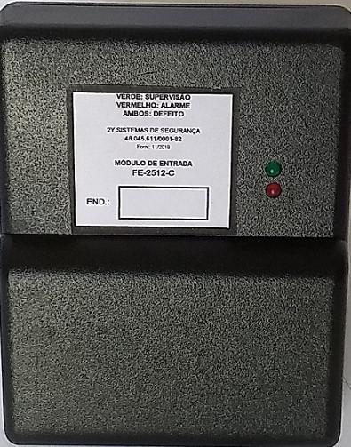 Modulo monitor de incêndio